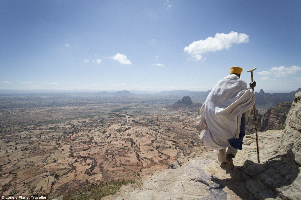 Devoted: Some priests have not left the mountaintop for 30 to 40 years