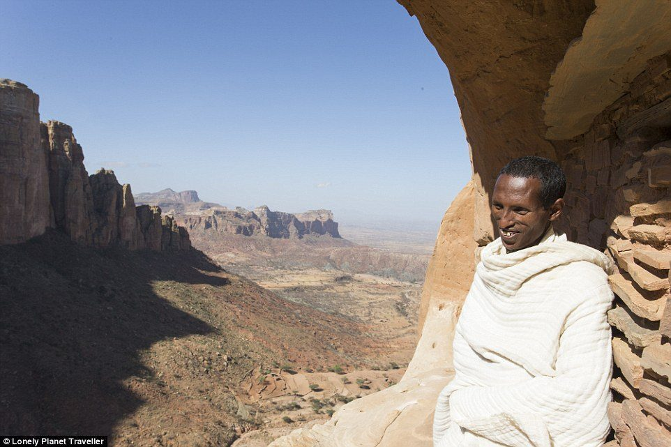 Spectacular scenery: Lonely Planet Traveller writer Oliver Smith made the journey, and recalls views of 'vast, Old Testament landscapes'