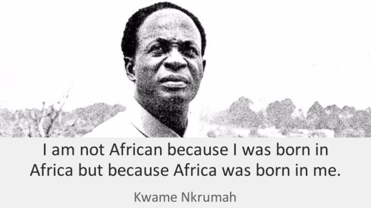 """Faces Of Africa- Kwame Nkrumah """"Africa Must Be Free"""