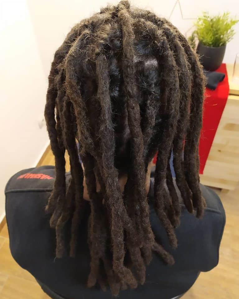 Raszta haj készítése otthon