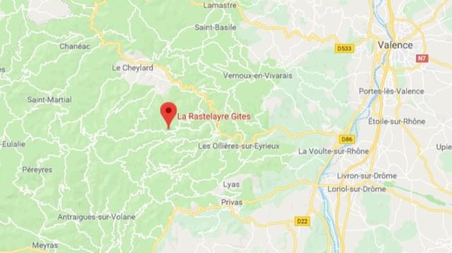 La Rastelayre Location
