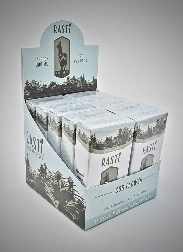 RASTi hemp smokes carton