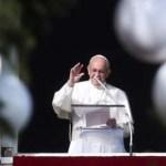 Papa Franjo: 'Božić nosi neočekivane promjene u životu'