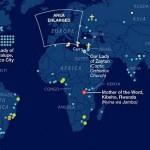Ovo je karta svijeta svih Gospinih ukazanja