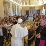 Papa mladima: Crkvi trebaju vaš zanos, intuicija, vjera i hrabrost