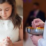 Slijepa djevojčica progledala u trenutku primanja svete pričesti
