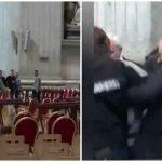 (VIDEO) STRAŠNO! Čovjek sa bodežom šetao po bazilici svetog Petra! Urlao i prijetio…