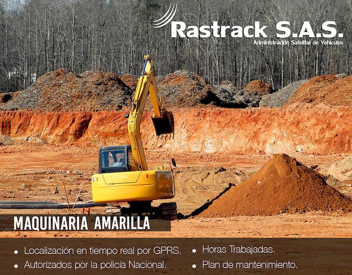 Rastreo Satelital Maquinaria Amarilla