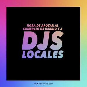 djs locales poster