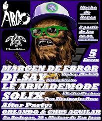 Arkademode musica electronica Madrid  poster