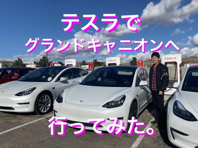 【日本人初】自動運転テスラでグランドキャニオンへ行ってみた。将来すべてのツアーがドライバー不要?
