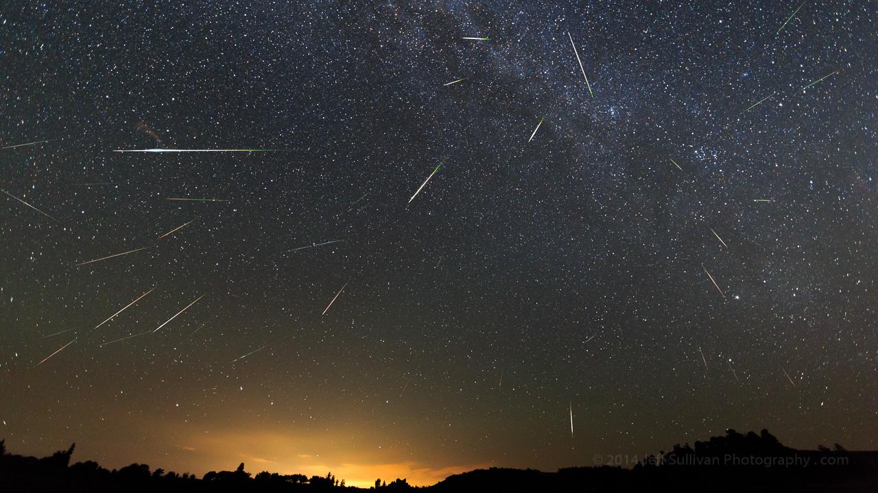 Meteors Falling Wallpaper Yıldız Kayması Nedir Rasyonalist Org