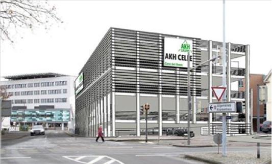 AKH Parkhaus im Ausschuss vorstellen – OT Hehlentor.