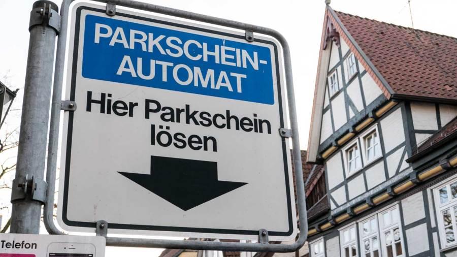 Kurzzeitparken in der Altstadt