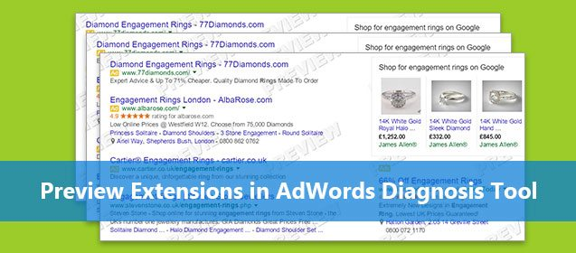 Now Preview AdWords Extensions in Ad Preview & Diagnosis Tool