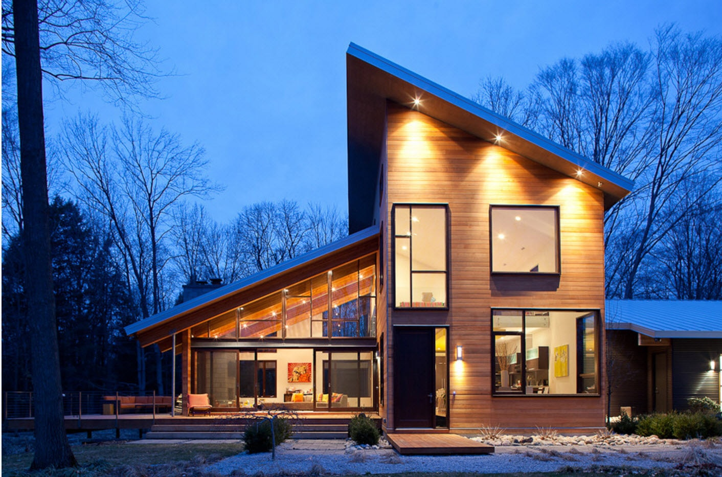 цените проекты разноуровневых домов фото имеют необычную