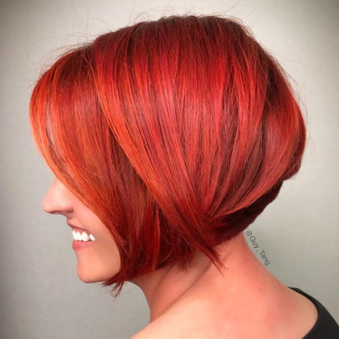Hair Dyeing Trends in Autumn 9