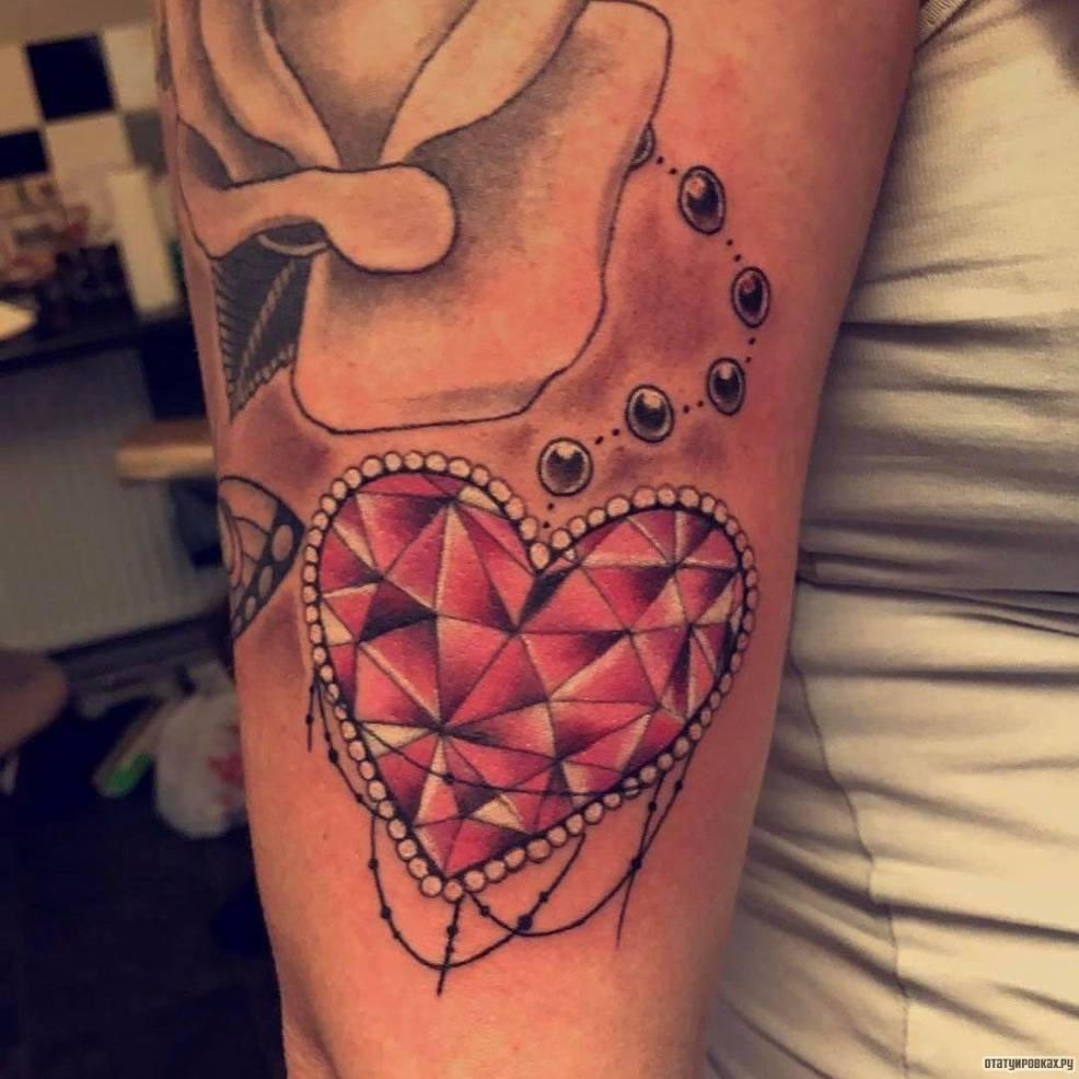 татуировка сердце сочетание романтики и глубокого смысла