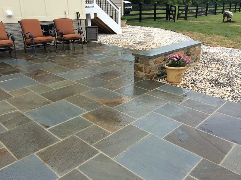 patios flatwork stepping stones