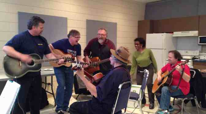 "<span class=""entry-title-primary"">Musicians, rejoice! Making music in the hall</span> <span class=""entry-subtitle"">Jam sessions strike a chord with community musicians and music lovers</span>"
