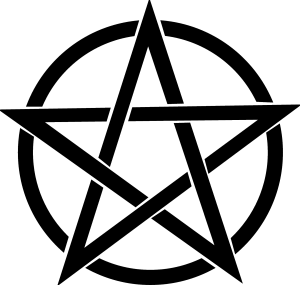 The pentagram symbolizes the four elements: earth, air, fire, and water with spirit at the top, guiding all. The circle around the pentacle symbolizes the unity of all. Credit: Pixabay