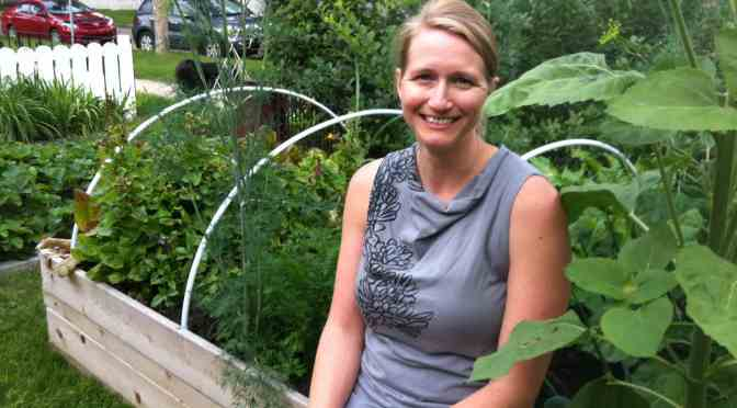 "<span class=""entry-title-primary"">Local resident's garden is a labour of love</span> <span class=""entry-subtitle"">Andrea Ruelling grows food and brings neighbours together</span>"