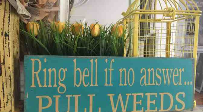 "<span class=""entry-title-primary"">Make a garden sign at Bloomin' Garden Show</span> <span class=""entry-subtitle"">Signs make a good gift or addition to your garden</span>"
