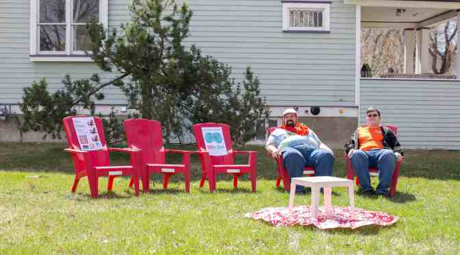 "<span class=""entry-title-primary"">Red Chair Ave sparks conversations</span> <span class=""entry-subtitle"">Talk about your dreams, love, and thoughts of home</span>"
