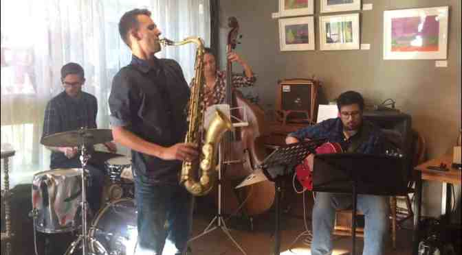 "<span class=""entry-title-primary"">Jamming with the cool cats at The Carrot</span> <span class=""entry-subtitle"">Play with a group of experienced jazz musicians</span>"