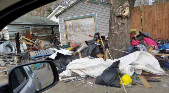 """<span class=""""entry-title-primary"""">The growing problem of garbage piles</span> <span class=""""entry-subtitle"""">Inner city neighbourhoods more likely to be plagued</span>"""