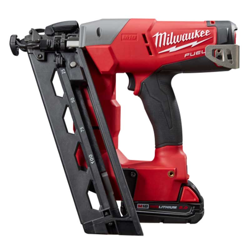 Milwaukee 18V 16ga Angled Finishing Nailer Reviews