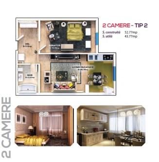 2 Camere - tip 2