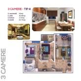 3 Camere - tip 4