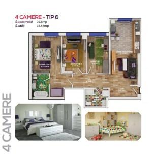 4 Camere - tip 6