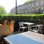 The Brasserie Outdoor Area