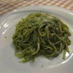 Vacanze Romane Linguine al Pesto Genovese