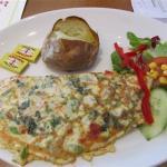 Renoir Vegetable Omelette