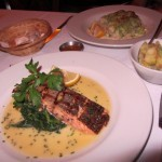 Waterloo Bar and Kitchen 2 Scottish Salmon and Crushed Potatoes