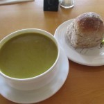 Salts Diner Pea and Mint Soup