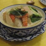 Nid Ting Vegetable Green Curry