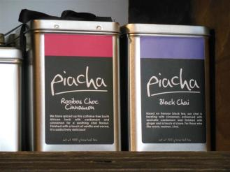 Piacha Tea Tins