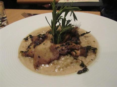 Papayou Risotto aux Cepes