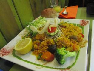 Yerbabuena Paella Vegetariana