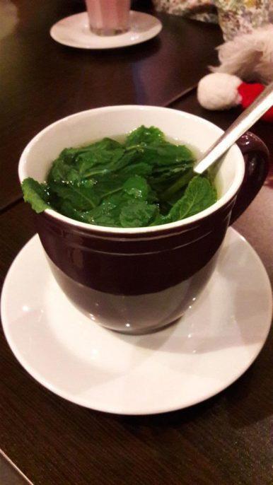 Olive Cafe Mint Tea