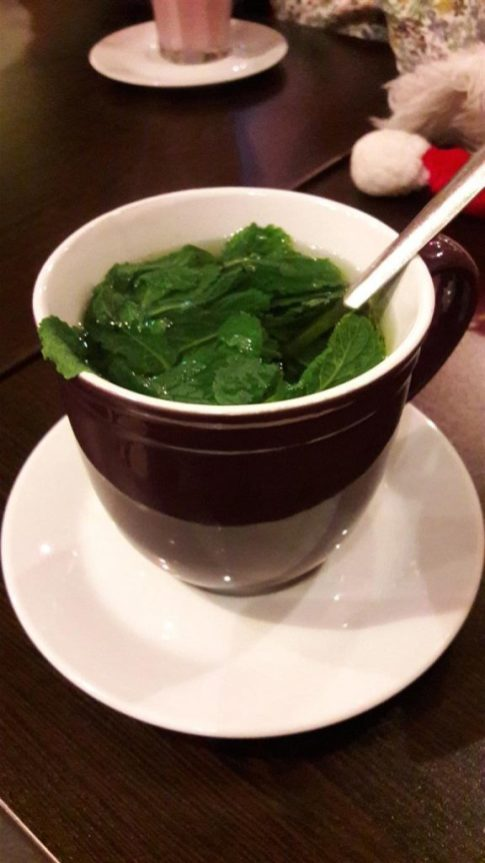 Olive Cafe Mint Tea