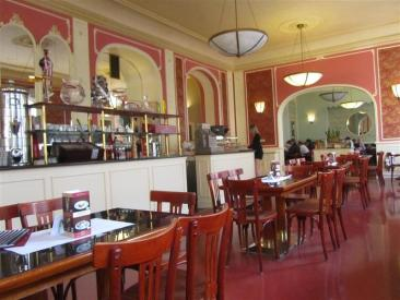 Cafe Louvre Interior