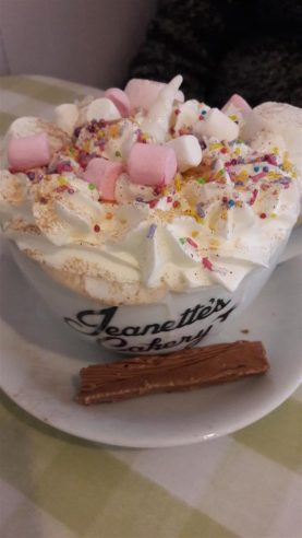 Jeanette's Cakery Unicorn Hot Chocolate