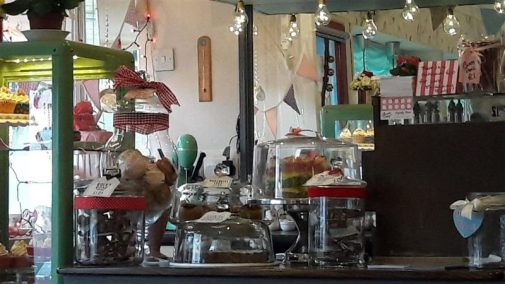 Jeanette's Cakery Display