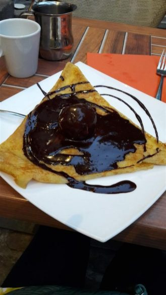 Creperie Beaurepaire After Eight Crepe