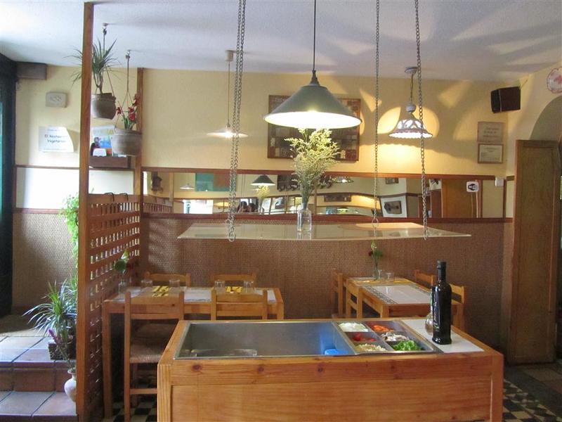 El Restaurante Vegetariano Interior